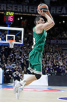 Panathinaikos Athens' Janis Blums during Euroleague match.January 22,2015. (ALTERPHOTOS/Acero) /NortePhoto<br />