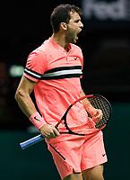 ABNAMRO World Tennis Tournament, 15 Februari, 2018, Rotterdam, The Netherlands, Ahoy, Tennis, Grigor Dimitrov (BUL)<br /> <br /> Photo: www.tennisimages.com