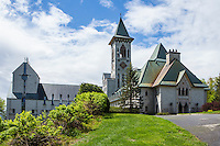 Abbaye De St-Benoit-Du-Lac (Saint Benedict Abbey) is pictured in St-Benoit-du-Lac, Quebec, Saturday May 24, 2014.  Saint Benedict Abbey, in an Abbey founded in 1912 by the exiled (Fontenelle Abbey) of St. Wandrille, France under Abbot Dom Joseph Pothier