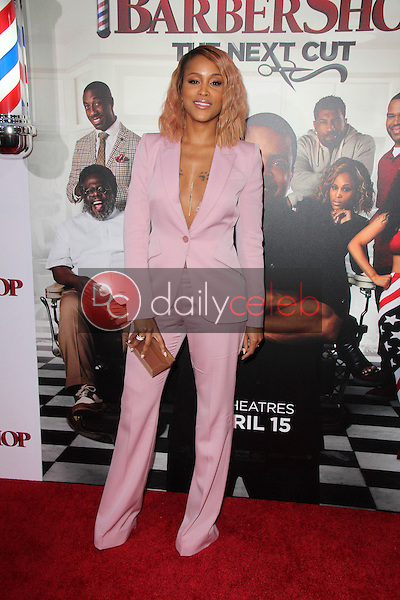 Eve<br /> at the &quot;Barbershop The Next Cut&quot; Premiere, TCL Chinese Theater, Hollywood, CA 04-06-16<br /> David Edwards/Dailyceleb.com 818-249-4998