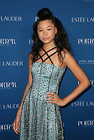 LOS ANGELES, CA - OCTOBER 9: Storm Reid, at Porter's Third Annual Incredible Women Gala at The Ebell of Los Angeles in California on October 9, 2018. Credit: Faye Sadou/MediaPunch