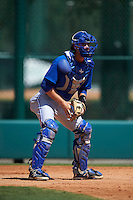 Toronto Blue Jays Owen Spiwak (15) during practice before an instructional league game against the Atlanta Braves on September 30, 2015 at the ESPN Wide World of Sports Complex in Orlando, Florida.  (Mike Janes/Four Seam Images)