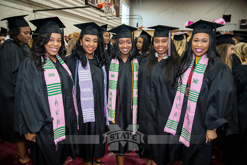 2017 MSU Spring Graduation at Humphrey Coliseum.<br />