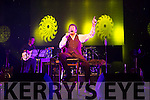 DJ Curtin at the stage in the INEC Killarney last Sunday night.