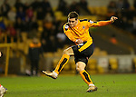 Michal Zyro of Wolverhampton Wanderers shoots at goal - Football - Wolverhampton Wanderers vs Bristol City - Molineux Wolverhampton - Sky Bet Championship - 8th March 2016 - Season 2015/2016 - Picture Malcolm Couzens/Sportimage