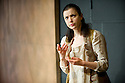 "Bath, UK. 06/10/2011. ""Iphigenia"" opens at the Ustinov Studio, Theatre Royal Bath. Picture shows Laura Rees (as Iphigenia). Photo credit: Jane Hobson"