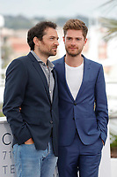 Arieh Worthalter and Lukas Dhont attend the photocall for 'GIRL' during the 71st annual Cannes Film Festival at Palais des Festivals on May 13, 2018 in Cannes, France.<br /> CAP/GOL<br /> &copy;GOL/Capital Pictures