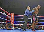 Oscar Rivas venció por TKO en el doceavo asalto a Bryant Jennings. Turning Stone Resort & Casino, Verona, New York, USA. International Boxing Federation International Heavyweight Title (supervisor: Melvina Lathan), NABF Heavyweight Title (supervisor: Robert Newman), World Boxing Organisation NABO Heavyweight Title (supervisor: Porfirio Betegon)