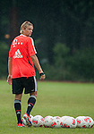 Anatoliy Tymoshchuk of Bayern Munich during a training session ahead the friendly match against VfL Wolfsburg as part of the Audi Football Summit 2012 on July 26, 2012 at the Tianhe Sports Stadium in Guangzhou, China. Photo by Victor Fraile / The Power of Sport Images