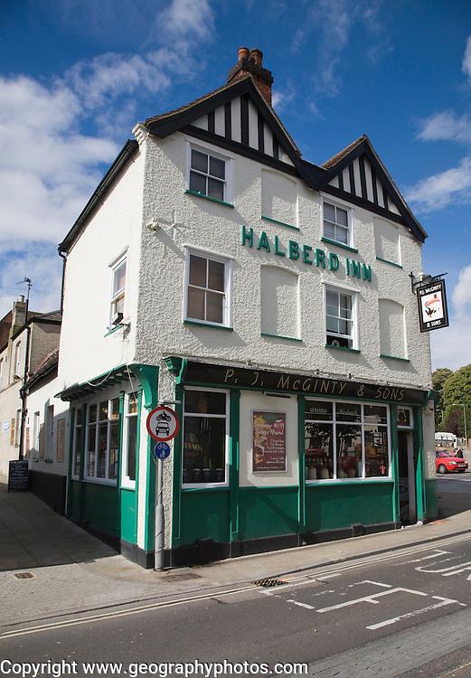Former Halberd Inn converted into McGinty's irish theme pub, Ipswich Suffolk England
