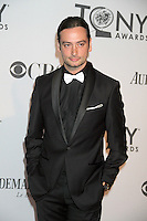 Constantine Maroulis at the 66th Annual Tony Awards at The Beacon Theatre on June 10, 2012 in New York City. Credit: RW/MediaPunch Inc. NORTEPHOTO.COM