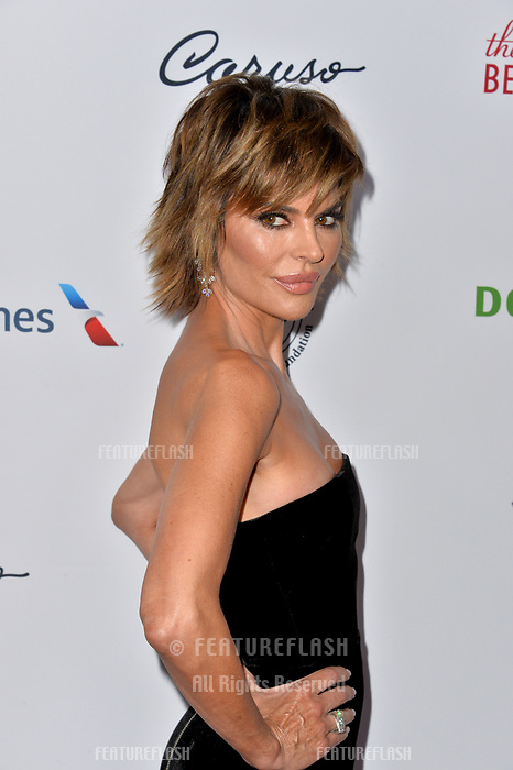 LOS ANGELES, CA. October 06, 2018: Lisa Rinna  at the 2018 Carousel of Hope Ball at the Beverly Hilton Hotel.<br /> Picture: Paul Smith/Featureflash