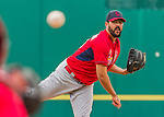7 March 2015: St. Louis Cardinals pitcher Carlos Villanueva on the mound during a Spring Training game against the Washington Nationals at Space Coast Stadium in Viera, Florida. The Cardinals fell to the Nationals 6-5 in Grapefruit League play. Mandatory Credit: Ed Wolfstein Photo *** RAW (NEF) Image File Available ***
