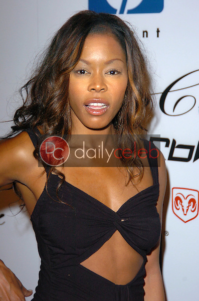 Golden Brooks<br /> at the Steve Stoute Celebrates 35 years of a Fabulous Life, Cabana Club, Hollywood, CA 06-26-05<br /> Chris Wolf/DailyCeleb.com 818-249-4998