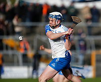 2nd February 2020; TEG Cusack Park, Mullingar, Westmeath, Ireland; Allianz Division 1 Hurling, Westmeath versus Waterford; Stephen Bennett strikes the ball forward for Waterford