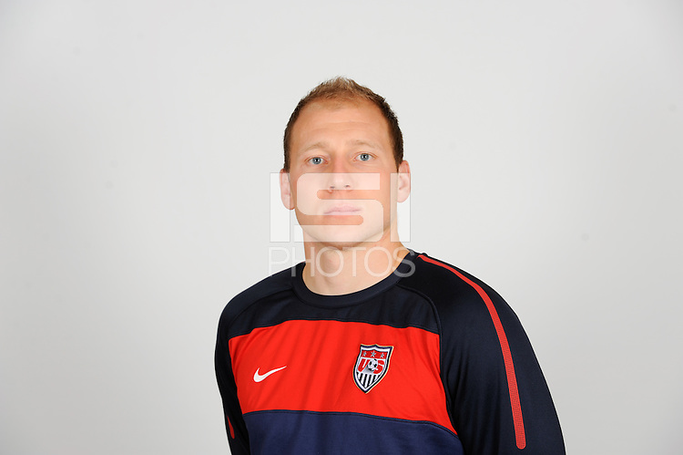 Brad Guzan of the United States (USA) men's national team on October 11, 2010.