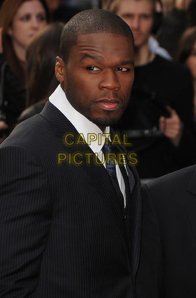 "CURTIS ""50 CENT"" JACKSON.""Righteous Kill"" UK film premiere, Empire Leicester Square, London, England..September 14th, 2008.headshot portrait goatee facial hair .CAP/CAS.©Bob Cass/Capital Pictures."