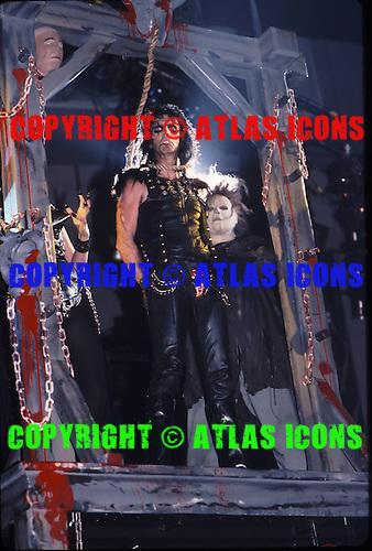 ALICE COOPER, LIVE, 1987 AND 1988, NEIL ZLOZOWER