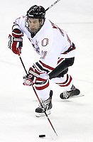 Nebraska-Omaha's Matt White. Colorado College defeated Nebraska-Omaha 5-2 Saturday night at CenturyLink Center in Omaha. (Photo by Michelle Bishop) .