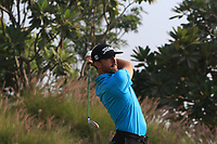 Wade Ormsby (AUS) in action on the 16th during Round 2 of the Hero Indian Open at the DLF Golf and Country Club on Friday 9th March 2018.<br /> Picture:  Thos Caffrey / www.golffile.ie<br /> <br /> All photo usage must carry mandatory copyright credit (&copy; Golffile | Thos Caffrey)
