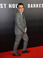 Joe Wright at the premiere for &quot;Darkest Hour&quot; at the Samuel Goldwyn Theatre at The Motion Picture Academy. Beverly Hills, USA 08 November  2017<br /> Picture: Paul Smith/Featureflash/SilverHub 0208 004 5359 sales@silverhubmedia.com