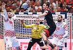 18.01.2020., Austria, Vienna, Wiener Stadthalle - European Handball Championship, Group I, Round 2, Croatia - Germany. Domagoj Duvnjak. <br /> Photo: Luka Stanzl/PIXSELL