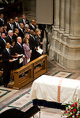 United States President Barack Obama, First Lady Michelle Obama, Vice President Joseph Biden, U.S. House Speaker Nancy Pelosi (Democrat of California), U.S. Senate Majority Leader Harry Reid (Democrat of Nevada), U.S. Representative James Clyburn (Democrat of South Carolina) and U.S. Secretary Of State Hillary Rodham Clinton, attend the funeral service for civil rights activist Dorothy Height held at the National Cathedral in Washington, D.C. on Thursday, April 29, 2010.  Height passed away on April 20 at the age of 98. .Credit: Kristoffer Tripplaar / Pool via CNP