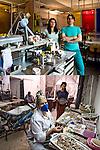 A BOCCA CHIUSA<br /> Laboratorio odontotecnico Catalani &amp; Adriano<br /> Pulitura del corallo di Yamina Herbi<br /> <br /> Denti qui e l&agrave;<br /> calchi mancanti dell&rsquo;intero<br /> gessi e mascherine.<br /> Seria &egrave; la nostra professione<br /> sorridete voi che potete,<br /> noi abbiamo da lavorare.<br /> <br /> Coralli da levigare,<br /> polvere di mare da cancellare.<br /> Sorridete voi che tenete tra le mani<br /> il ciondolo o il bracciale,<br /> noi abbiamo da lavorare.