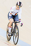Kristina Vogel of Germany waves to the audience after competing in the Women's Sprint - 1/8 Final as part of the 2017 UCI Track Cycling World Championships on 13 April 2017, in Hong Kong Velodrome, Hong Kong, China. Photo by Chris Wong / Power Sport Images