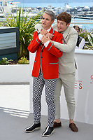 John Cameron Mitchell &amp; Alex Sharp at the photocall for &quot;How To Talk To Girls At Parties&quot; at the 70th Festival de Cannes, Cannes, France. 21 May 2017<br /> Picture: Paul Smith/Featureflash/SilverHub 0208 004 5359 sales@silverhubmedia.com