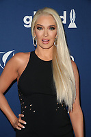 BEVERLY HILLS, CA - APRIL 12: Erika Jayne at the 29th Annual GLAAD Media Awards at The Beverly Hilton Hotel on April 12, 2018 in Beverly Hills, California. <br /> CAP/MPIFS<br /> &copy;MPIFS/Capital Pictures