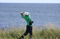 Aaron Marshall of Ireland during Day 3 of the Boys' Home Internationals played at Royal Dornoch Golf Club, Dornoch, Sutherland, Scotland. 09/08/2018<br /> Picture: Golffile | Phil Inglis<br /> <br /> All photo usage must carry mandatory copyright credit (&copy; Golffile | Phil Inglis)