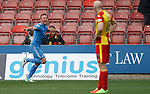 Adam Rooney takes the acclaim for scoring Aberdeen's fourth and winning goal