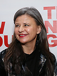 "Tracey Ullman attends the Off-Broadway Opening Night Premiere of  ""Jerry Springer-The Opera"" on February 22, 2018 at the Green Fig Urban Eatery in New York City."