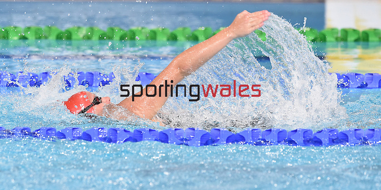 Wales' Danielle Stirrat competes in the Women's 100m Backstroke - Heat 2<br /> <br /> Photographer Chris Vaughan/Sportingwales<br /> <br /> 20th Commonwealth Games - Day 2 - Friday 25th July 2014 - Swimming - Tollcross International Swimming Centre - Glasgow - UK