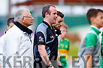 Referee Johnny Murphy after Ballyduff and Lixnaw finish level at the Senior County Hurling Final in Austin Stack Park on Sunday