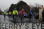 JIMMY DUFFY MEMORIAL CYCLE: The start of the Jimmy Duffy memorial cycle at Blennerville on Saturday.