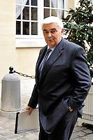 MICHEL LUCAS Direttore Generale della banca CIC .02/11/2011 Parigi.Incontro tra il Primo Ministro Francese e i banchieri francesi a l'Hotel de Matignon.Foto Gerard Roussel / Panoramic / Insidefoto.........