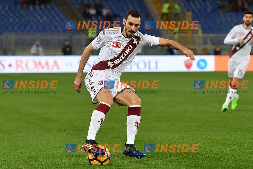 Davide Zappacosta Torino <br /> Roma 18-02-2017 Stadio Olimpico Football Calcio Serie A 2016/2017 <br /> AS Roma - Torino Foto Andrea Staccioli / Insidefoto