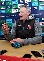 Monday 2nd December 2019 | Ulster Rugby Match Briefing<br /> <br /> Ulster Rugby Skills Coach Dan Soper at the Match Briefing held at Kingspan Stadium, Belfast ahead of the Heineken Champions Cup Round 3 clash against Harlequins at Kingspan Stadium, Belfast, on Saturday 6th December 2019. Photo by John Dickson / DICKSONDIGITAL