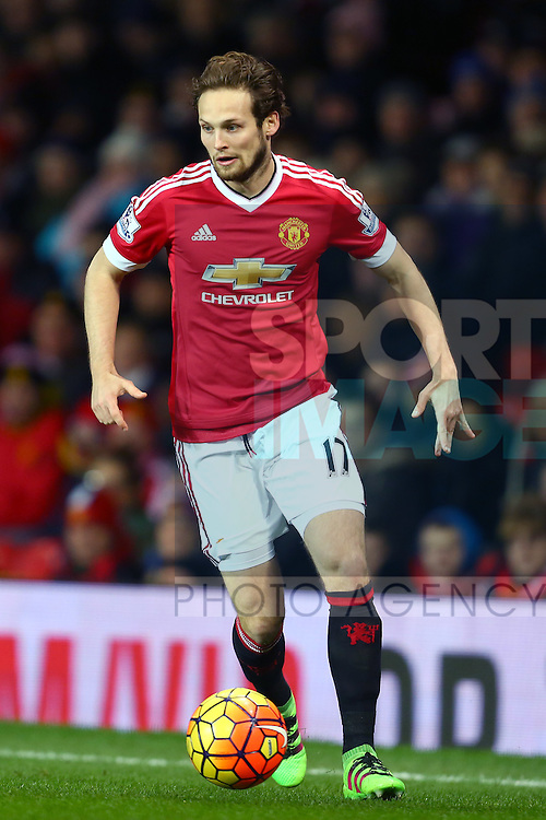 Daley Blind of Manchester United - Barclay's Premier League - Manchester United vs Watford - Old Trafford - Manchester - 02/03/2016 Pic Philip Oldham/SportImage
