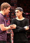 Jason Hite & Taylor Trensch performing in the 'BARE' A first look preview at the New World Stages in New York City on 11/12/2012
