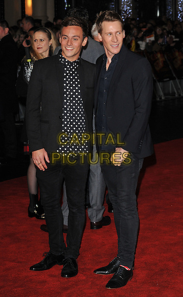 Tom Daley &amp; Dustin Lance Black attend the , Odeon Leicester Square, Leicester Square, London, England, UK, on Thursday 05 November 2015. <br /> CAP/CAN<br /> &copy;CAN/Capital Pictures