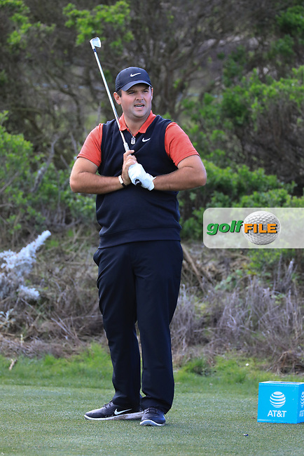 Patrick Reed (USA) in action at Spyglass Hill Golf Course during the second round of the AT&T Pro-Am, Pebble Beach Golf Links, Monterey, USA. 08/02/2019<br /> Picture: Golffile | Phil Inglis<br /> <br /> <br /> All photo usage must carry mandatory copyright credit (© Golffile | Phil Inglis)