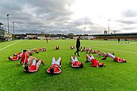 2018 01 04 Wales U18 v Swansea U18, Carmarthen, Wales, UK