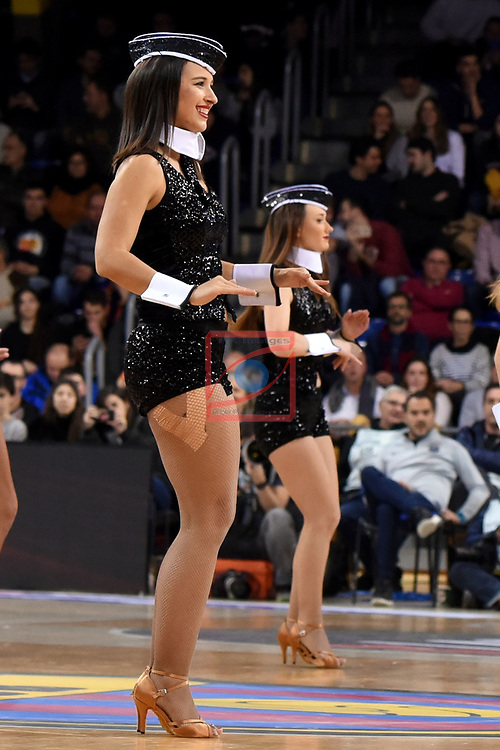Turkish Airlines Euroleague 2018/2019. <br /> Regular Season-Round 18.<br /> FC Barcelona Lassa vs Panathinaikos Opap Athens: 79-68.<br /> Dream Cheers.