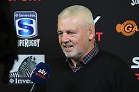 1st August 2020, Hamilton, New Zealand;  Warren Gatland.<br /> Chiefs versus Crusaders, Super Rugby Aotearoa, FMG Waikato Stadium, Hamilton, New Zealand.