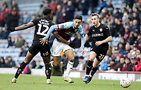 Burnley's Dwight McNeil looks to run past Dimitri Cavare<br /> <br /> Photographer Rich Linley/CameraSport<br /> <br /> Emirates FA Cup Third Round - Burnley v Barnsley - Saturday 5th January 2019 - Turf Moor - Burnley<br />  <br /> World Copyright &copy; 2019 CameraSport. All rights reserved. 43 Linden Ave. Countesthorpe. Leicester. England. LE8 5PG - Tel: +44 (0) 116 277 4147 - admin@camerasport.com - www.camerasport.com