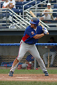 August 16, 2003:  Larry Wayne York of the Vermont Expos during a game at Dwyer Stadium in Batavia, New York.  Photo by:  Mike Janes/Four Seam Images