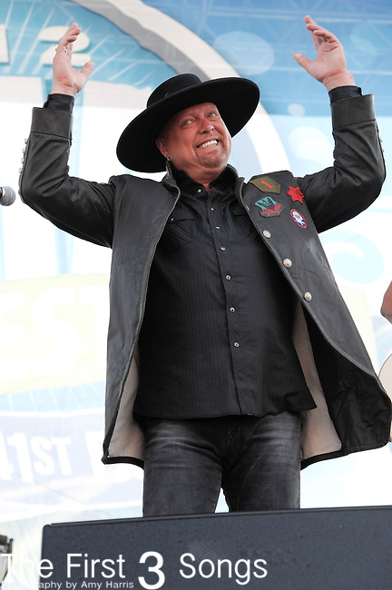 Montgomery Gentry performs at the Riverfront Stage during the 2012 CMA Music Festival in Nashville, Tennessee.